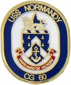 USS Normandy Pin