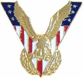 Victory Eagle Pin