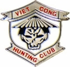Viet Cong Hunting Club Pin