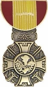 Vietnam Cross Of Gallantry Medal Pin