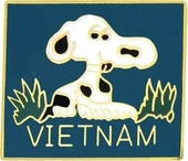 Vietnam Dog Pin