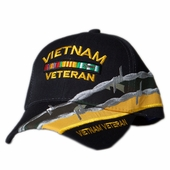 OUT OF STOCK VIETNAM VETERAN BAR BARBED WIRE HAT