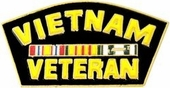 Vietnam Veteran Pin