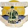 Vietnam Veteran...Proud Of It Pin