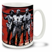 Vietnam War Veteran 16 Ounce Coffee Mug