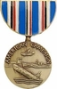 WW II American Theater Campaign Medal Pin