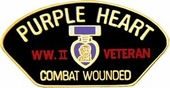 WWII Combat Wounded Pin