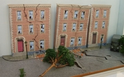 and the damaged street was for geography where we had to create a diorama of earthquake damage.  Steve, UK