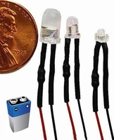 Solid LEDs for Battery