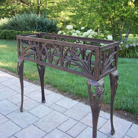 Oakland Living Erfly Rectangular Plant Stand In Antique Bronze