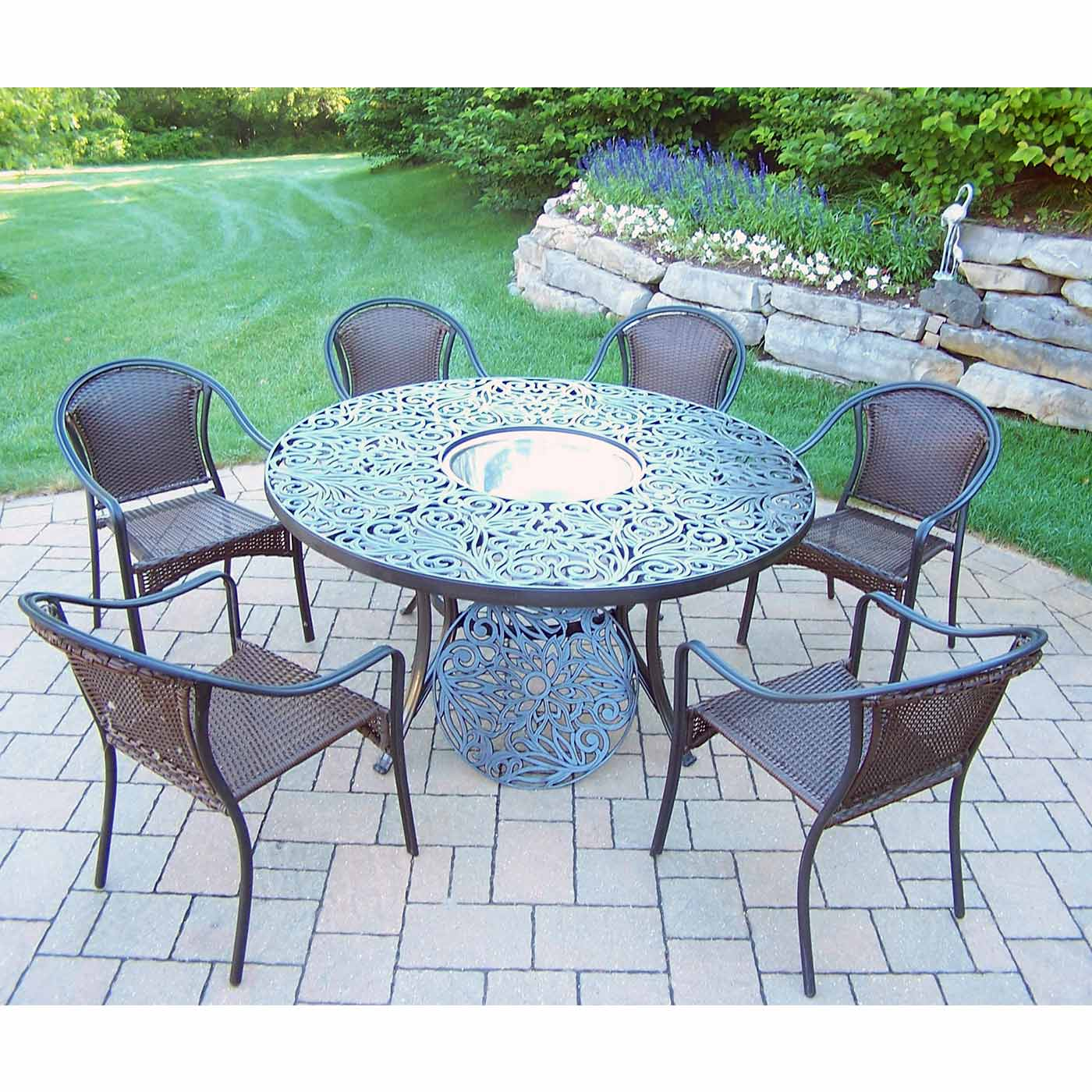 round patio table and chairs canada patio designs