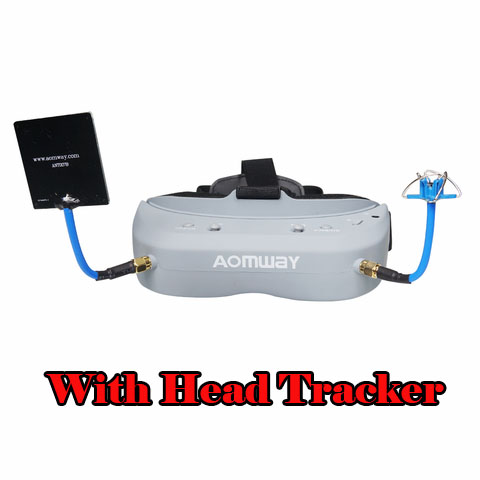 Aomway Commander V1 FPV Goggle with DVR and Head Tracker (Free Shipping)