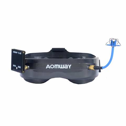 Aomway Commander V2 64CH 45 Degree FOV with DVR FPV Goggle