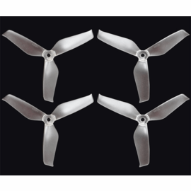 ARRIS 5042 3-blade Durable Propeller Blade for FPV Racing Drones (Transparent)