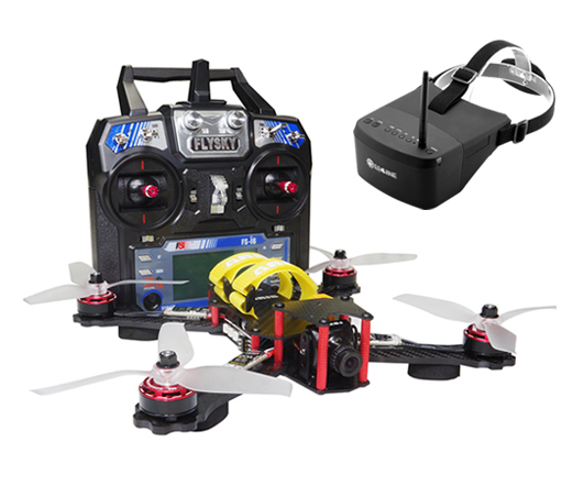 ARRIS C250 FPV Racing Quad FPV RTF Combo with EV800 Goggle