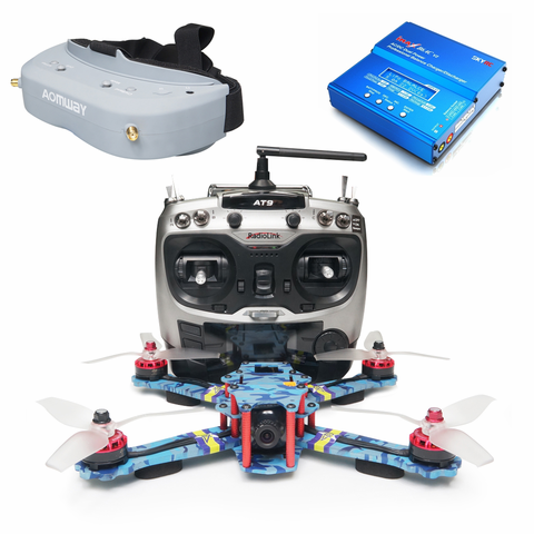 ARRIS C250 V2 FPV Racing Drone RTF with Aomway Commander V1 FPV Goggle Boundle