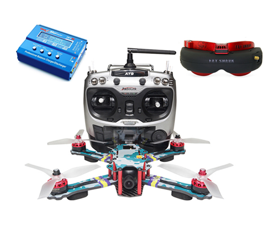 ARRIS C250 V2 FPV Racing Quad RTF with Fatshark Attitude V4 Goggle (US Warehouse)