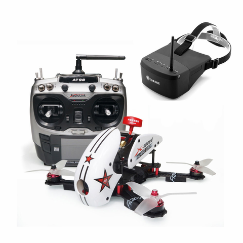 ARRIS X-Speed 280 V2 RTF with Eachine EV800 FPV Goggle (US Warehouse)