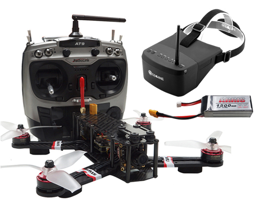 ARRIS X-Speed 250B FPV Racing Drone RTF with Eachine EV800 Goggle with 2 Battery (Free Shipping)