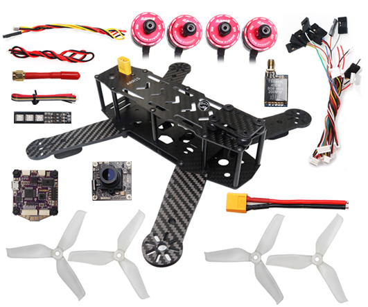 ARRIS X-Speed 250B V3.0 FPV Racing Drone Unassembled Quadcopter Super Combo