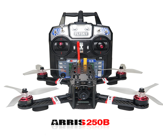 ARRIS X-Speed 250B Racing Quad RTF V3.0 with Flysky FSI6 Radio Battery
