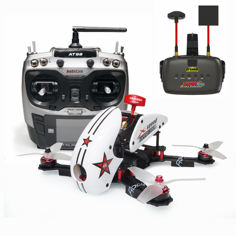 ARRIS X-Speed 280 V2 RTF with Eachine VR D2 Pro FPV Goggle