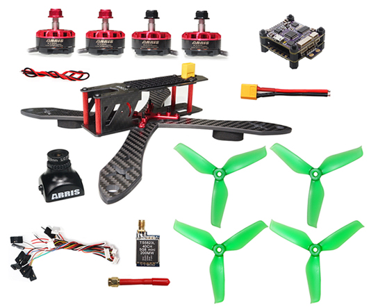 ARRIS X220 220MM FPV Racing Drone Super Combo