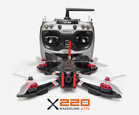 ARRIS X220 FPV Racing Drone RTF with Radiolink AT9S (US Warehouse)
