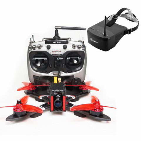 "ARRIS X220 V2 220MM 5"" FPV Racing Drone with EV800 FPV Goggle (US Warehouse)"