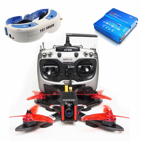 ARRIS X220 V2 Fpv Racing Drone w/Fatshark Dominator V3 FPV in All Boundle(US Warehouse)
