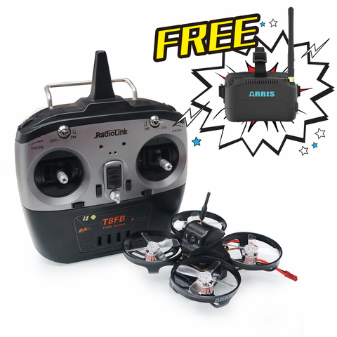 ARRIS X90 90MM Micro Brushless FPV Racing Drone RTF