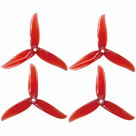 DALPROP Cyclone Series T5045C High End Dynamic Balanced Propeller (Red)