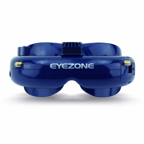 EyeZone Yuan FPV Goggle with Dual Receiver and DVR(Free Shipping)