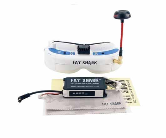 FatShark Dominator V3 Kit Headset FPV Video Goggles FSV1063-03 with Receiver