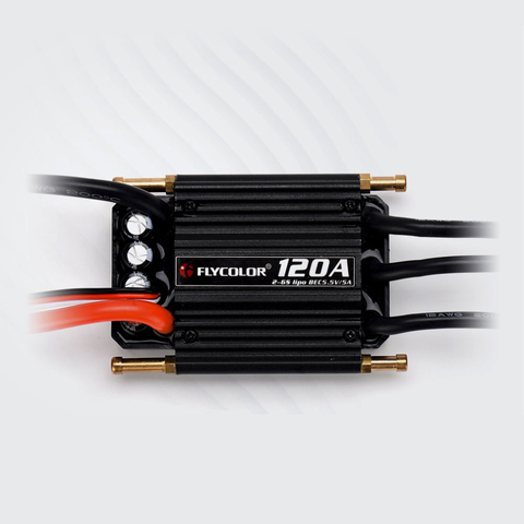 Flyclor FlyMonster 50A 70A 90A 120A 150A Brushless ESC for RC Boats