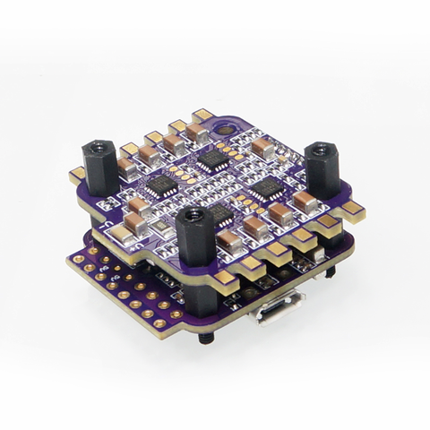 Flycolor Raptor S-Tower 12A BHeli-S 2-3S Dshot ESC with F3 Flight Controller and OSD