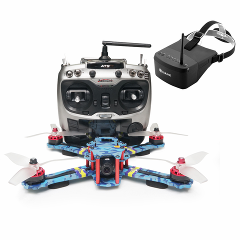 Free shipping!ARRIS C250 V2 250mm FPV Racing Drone RTF w/ Radiolink AT9S and EV800 FPV Goggle (US Warehouse)