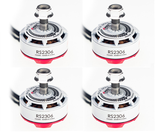 Free Shipping EMAX RS2306 2400KV Brushless Motor 4 PCS (US Warehouse)