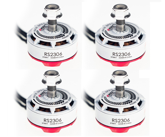 Free Shipping EMAX RS2306 2750KV Brushless Motor 4 PCS (US Warehouse)