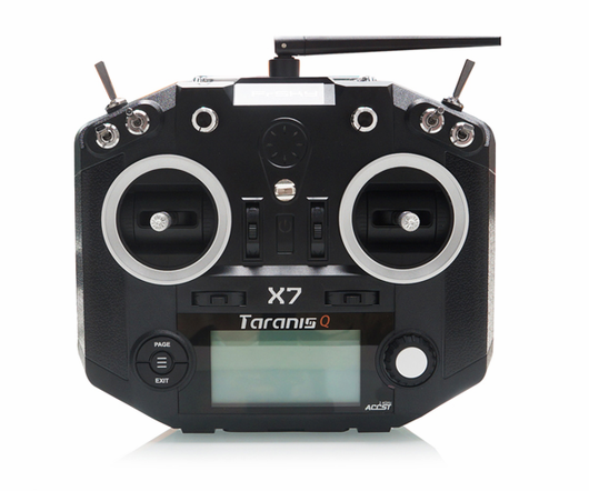 FrSky Taranis Q X7 2.4G 16CH Transmitter Black (US Warehouse)