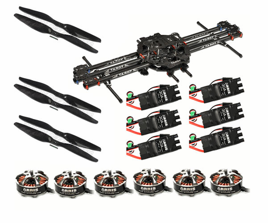 TAROT FY680 Carbon Fiber Hexa-copter Super Combo (Not Assembled)
