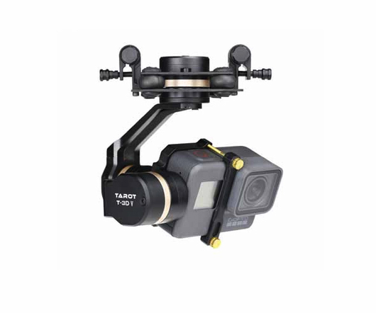 TAROT GOPRO 5 3DⅣ Metal Brushless Gimbal for GoPro 5 TL3T05
