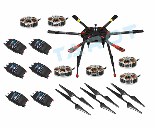 Tarot X6 6-Axis Hexacopter TL6X001 Super Combo (Not Assembled)