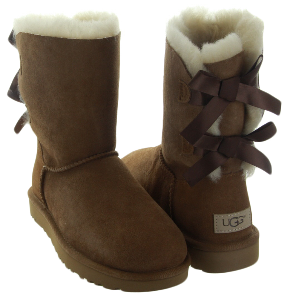 bailey bow ii in chestnut by ugg women s ugg boots. Black Bedroom Furniture Sets. Home Design Ideas