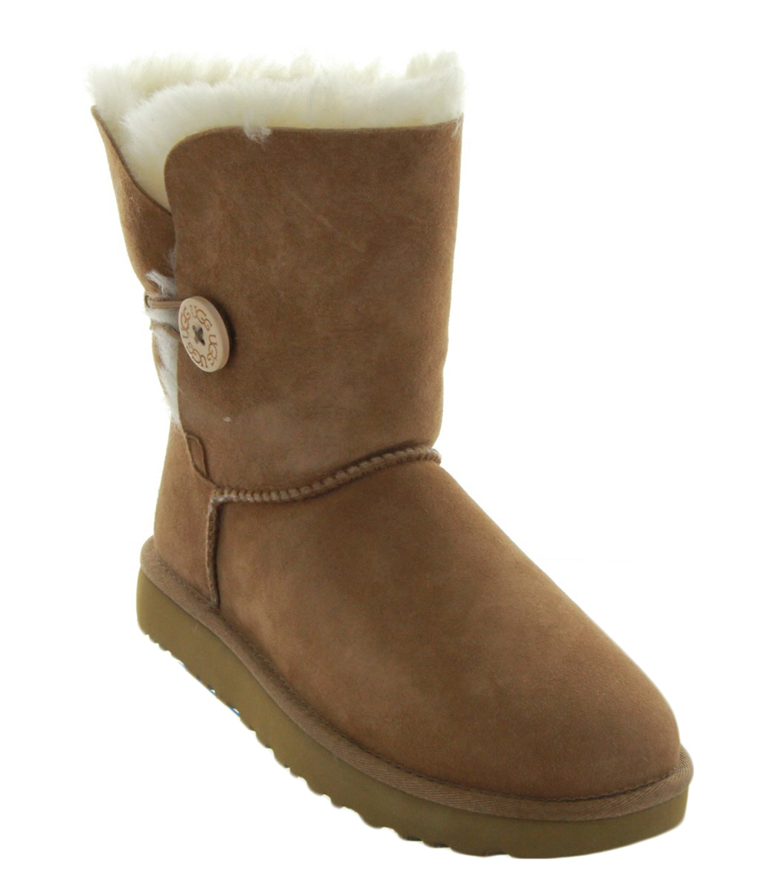 bailey button ii in chestnut by ugg women s ugg boots. Black Bedroom Furniture Sets. Home Design Ideas