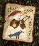 2004 Snowman Ornament - Star Of Wonder