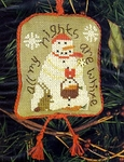 2003 Snowman Ornament - All My Nights Are White