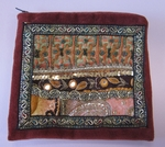 "7"" Rust Glitzy Accessory Bag"