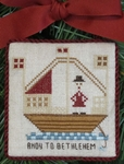 Ahoy To Bethlehem! Ornament