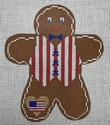 Americana Gingerbread Man